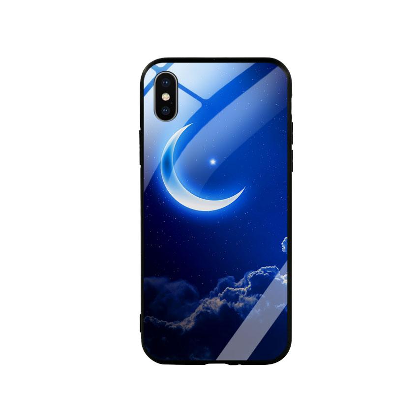 Ốp Lưng Kính Cường Lực cho điện thoại Iphone X  Xs -  0220 MOON01