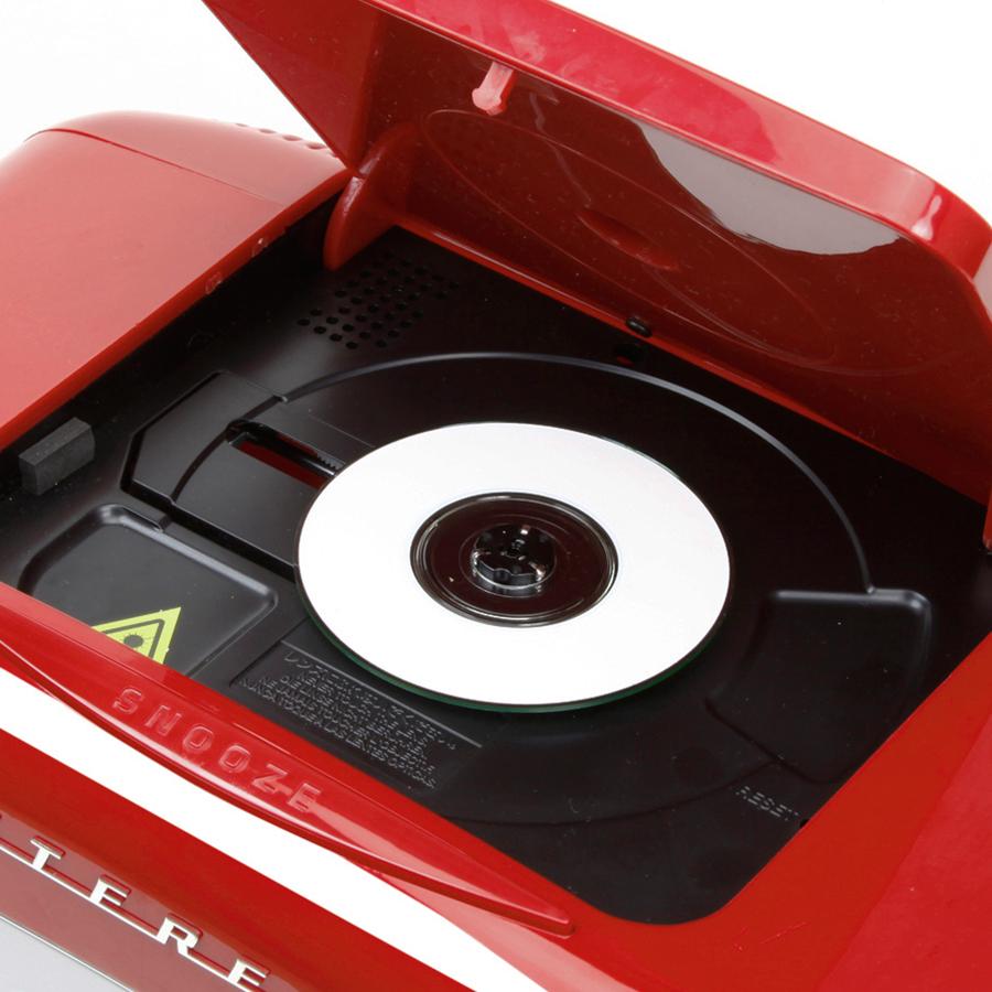 Máy Cassette TEAC SL-D930 - Đỏ - Hàng Chính Hãng