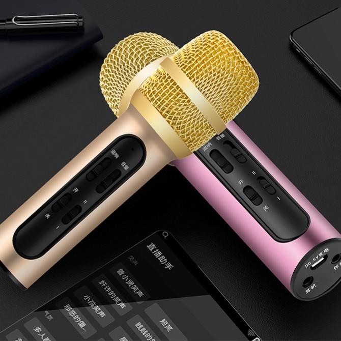 Hình ảnh Micro C11 thu âm live stream loại cao cấp kèm tai phone ( màu ngẫu nhiên )