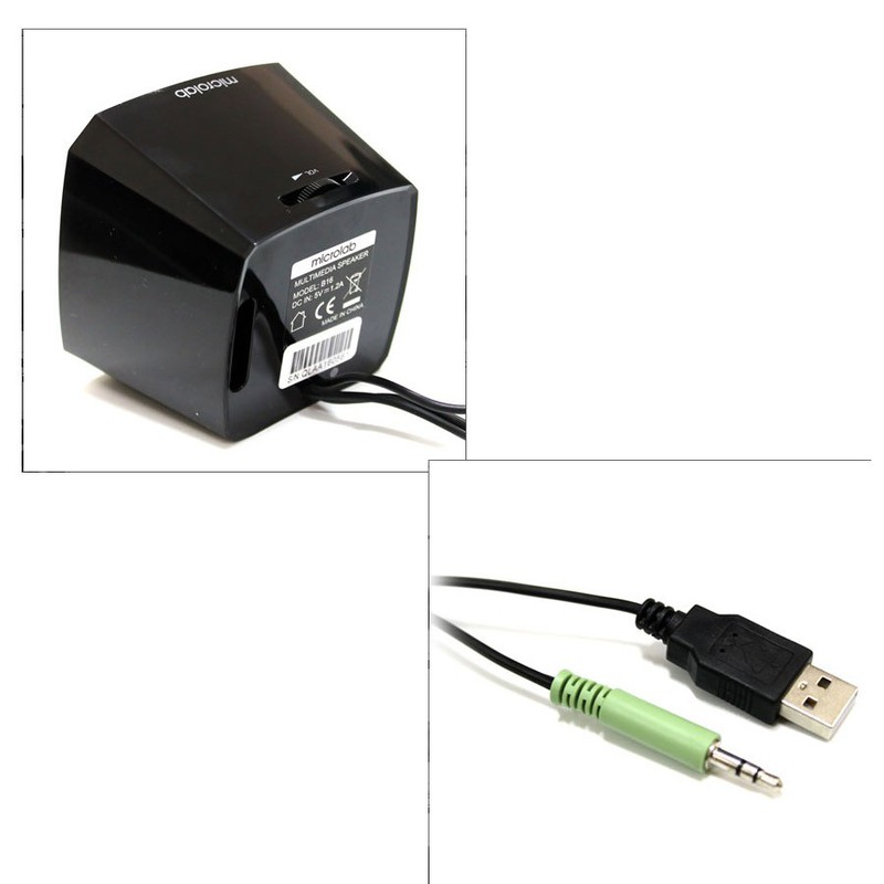 Loa Vi Tính Mini 2.0 Microlab B16 - Hàng Chính Hãng