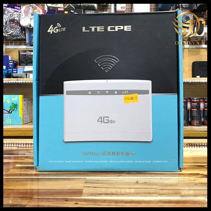 Bộ Phát Modem Router Wifi 4G LTE CPE - 101 Cục Phát Sóng Wifi 2 Râu Mạng Tốc Độ Cao Ổn Định -