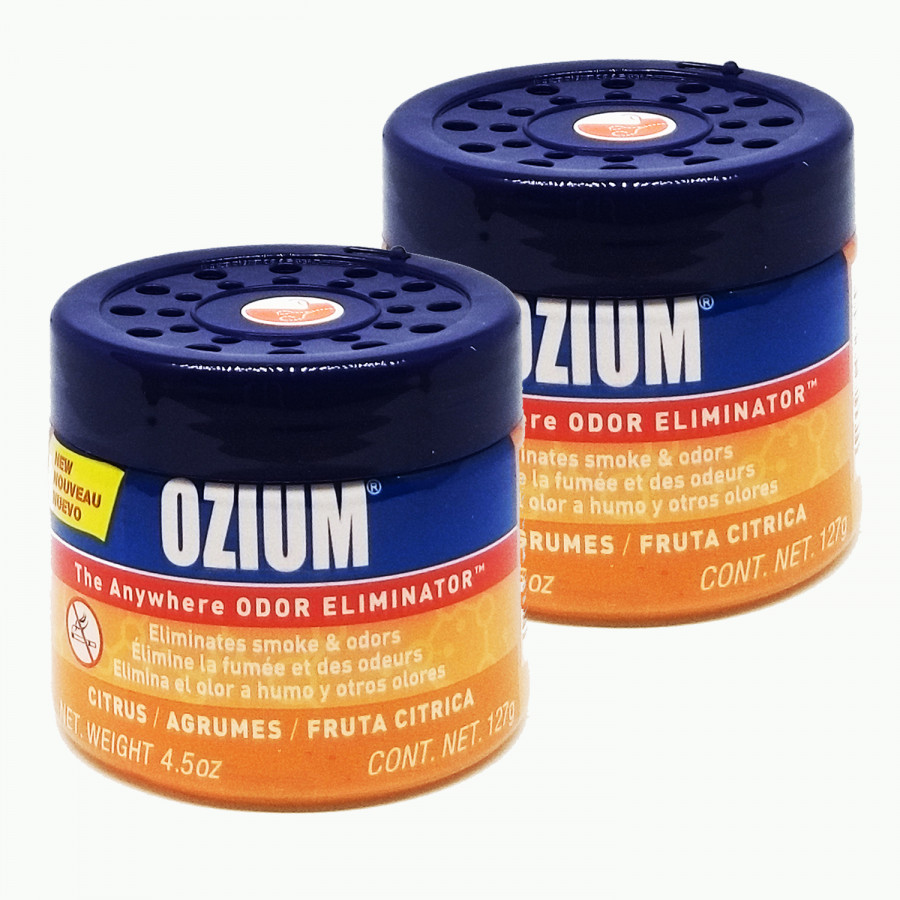 Khử mùi Ozium Air Sanitizer Gel 4.5 oz (127g) Citrus/806386-2packs