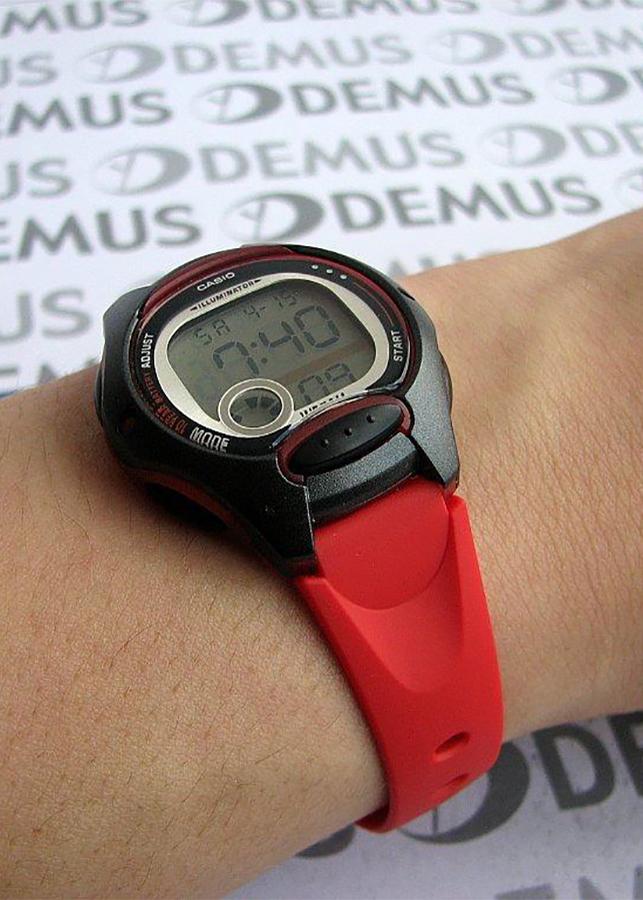 Đồng Hồ Nữ Dây Nhựa Resin Casio LW-200-4AVDF (35mm) - Đỏ