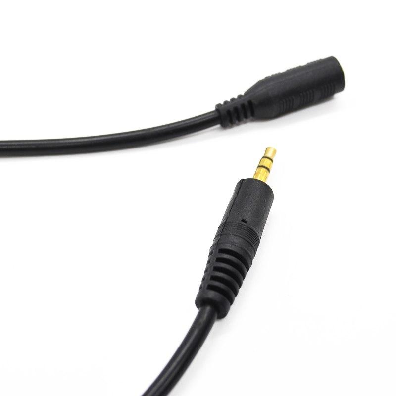 Cáp âm thanh chuẩn 3.5mm 1 đầu đực 1 đầu cái dài 3M