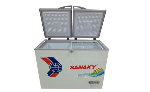 Tủ đông Sanaky VH-3699A1 thiết kế 1 ngăn 2 cửa tiện lợi