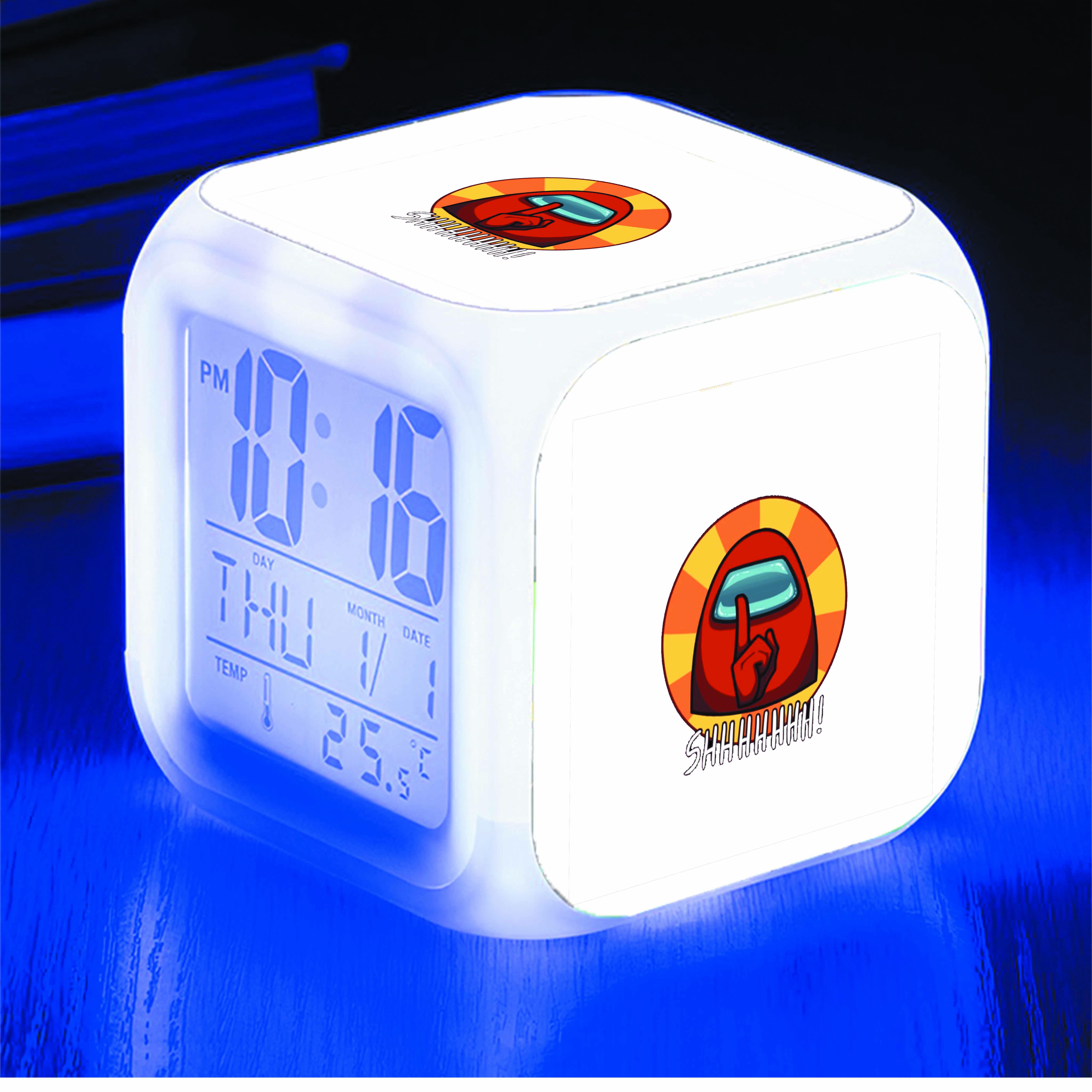 Đồng hồ báo thức để bàn IN HÌNH Among Us