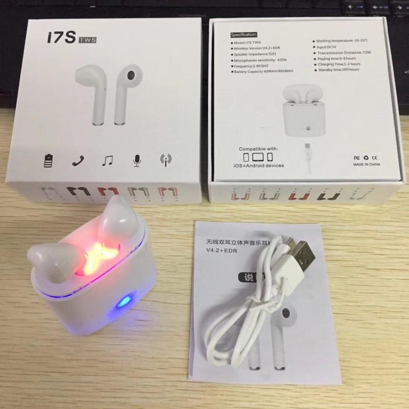 Tai Nghe I7S Không Dây Kết Nối Bluetooth