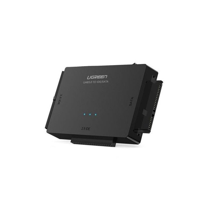 Bộ chuyển đổi ổ cứng USB 3.0 ra SATA + 3.5 IDE + 2.5 IDE  Ugreen 20673 US160 20020673