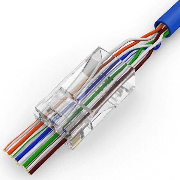 Kìm bấm mạng xuyên thấu (RJ45+RJ11) tặng 10 hạt mạng xuyên thấu