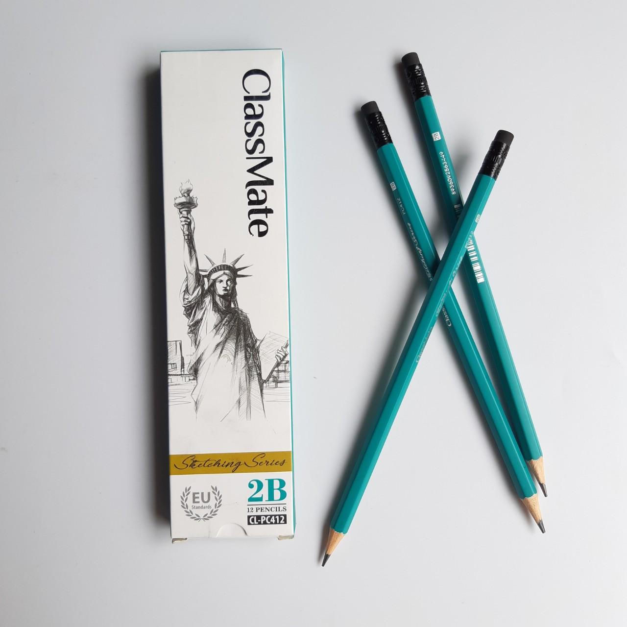 Hộp 12 cây Bút chì gỗ Classmate