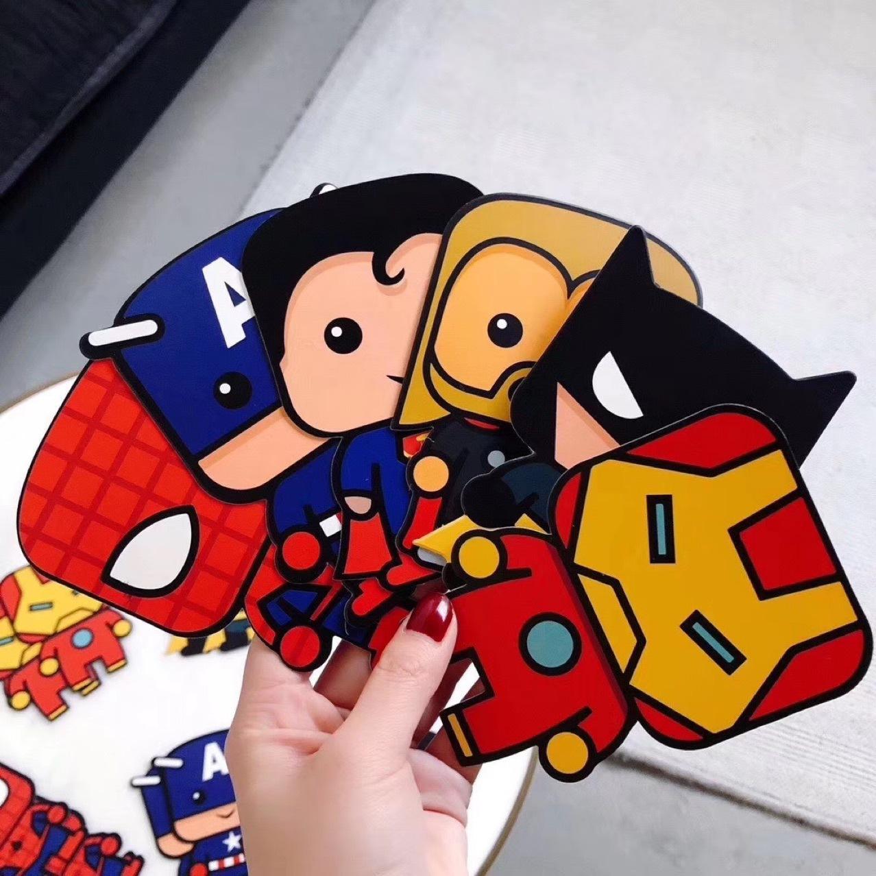 Combo 100 bao lì xì Tết 2021 hình hoạt hình siêu anh hùng người nhện Lì xì 2021