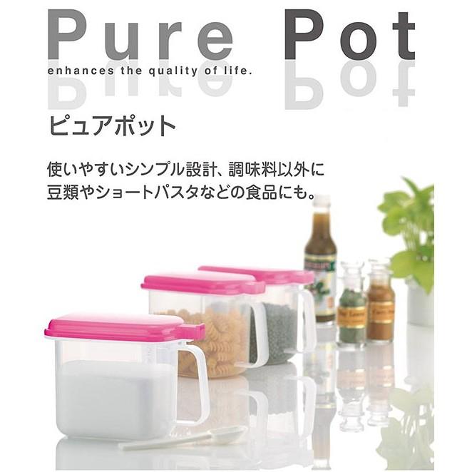 Bộ 3 hộp đựng gia vị, đồ khô siêu tiện dụng - Hàng nội địa Nhật