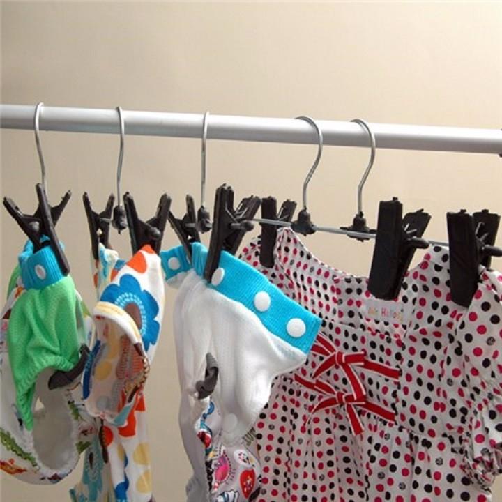 Combo 10 móc kẹp quần áo tiện dụng