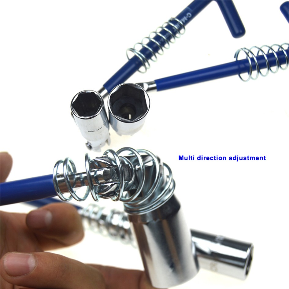 Cần tháo bugi - Khẩu mở bugi dạng mỏ neo 16mm chính hãng C-mart