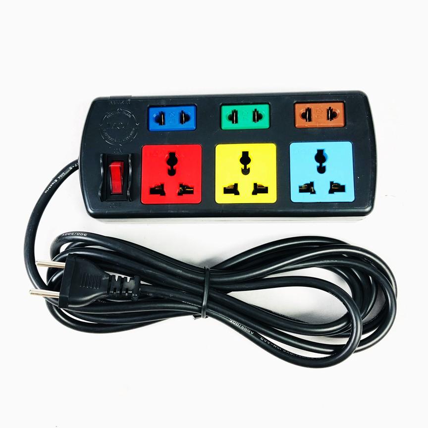 Ổ Cắm Điện LioA 3DN3S (250V - 10A, 3 ổ DN, 3 ổ S, Dây Dài 3 Mét) GNG - Ổ  cắm điện Thương hiệu LiOA | SieuThiChoLon.com