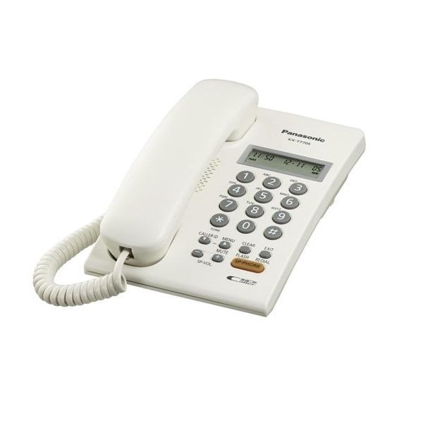 Điện thoại bàn Panasonic KX-T7705X - Trắng - Hàng chính hãng