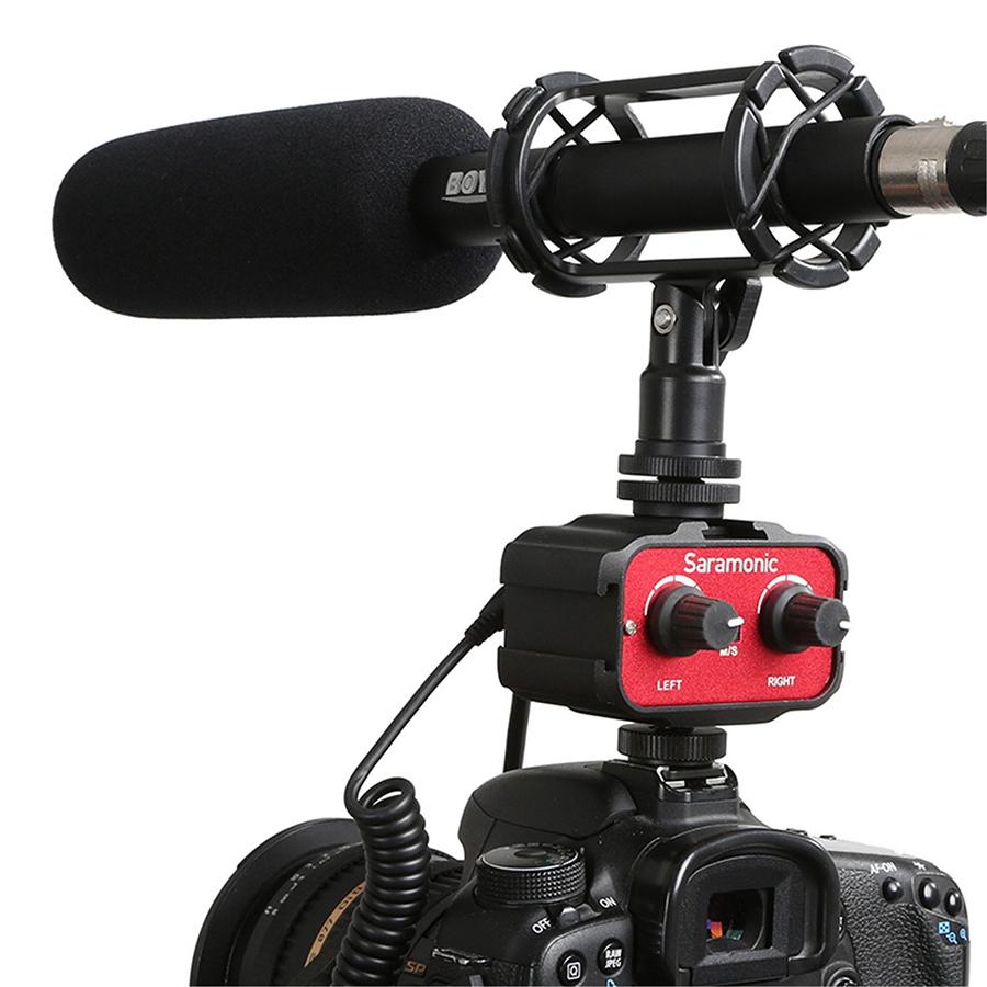 Mixer Audio Adapter Saramonic SR-Ax100 - Hàng Chính Hãng