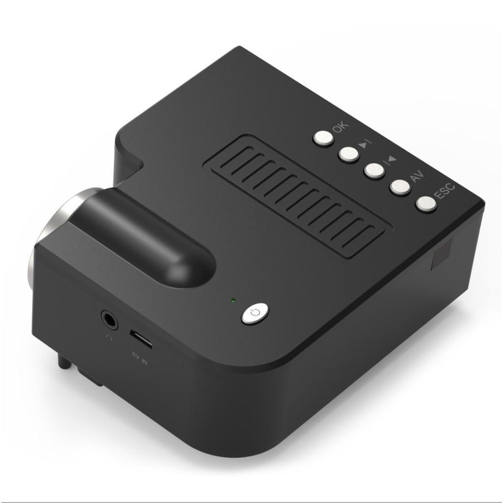 Máy Chiếu LED mini projector tiên tiến mini bỏ túi thế hệ mới 2020