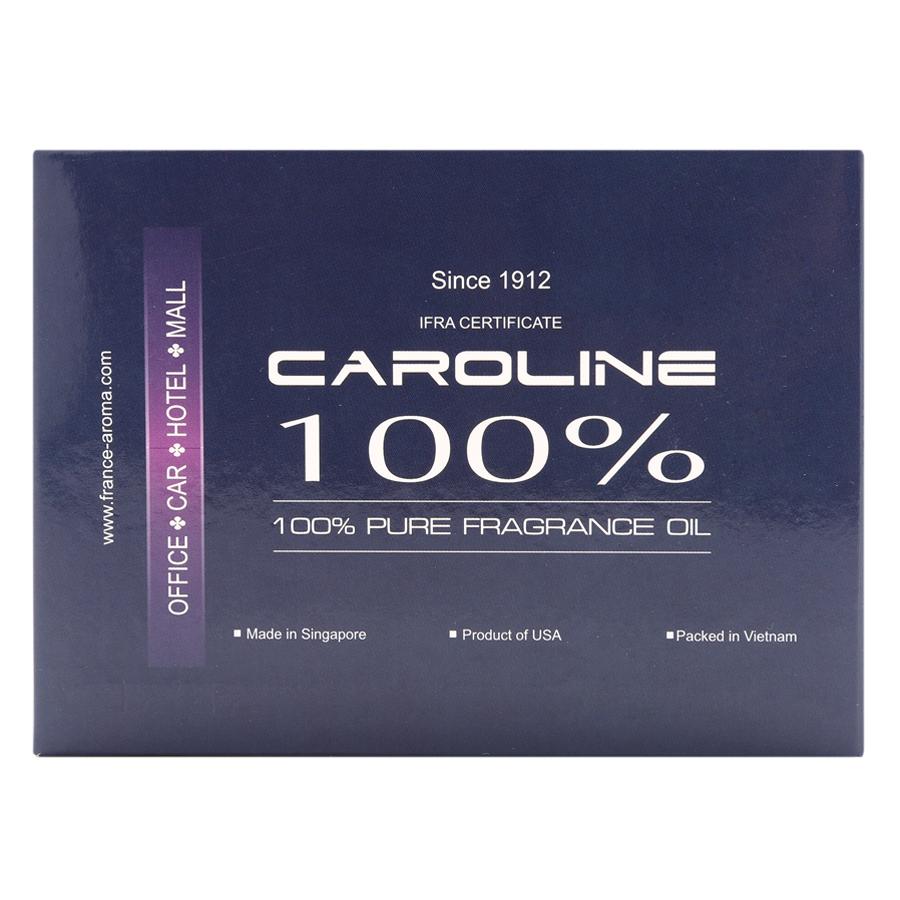 Combo 3 Chai Tinh Dầu Caroline 10ml - Cúc La Mã, Hoa Trà, Hoa Lài