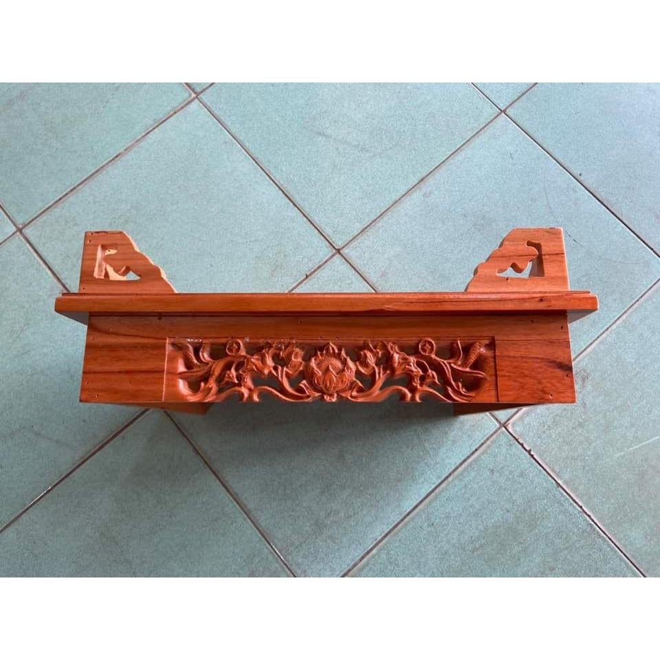 Bàn thờ treo tường hoa sen 50cm TTX50SD