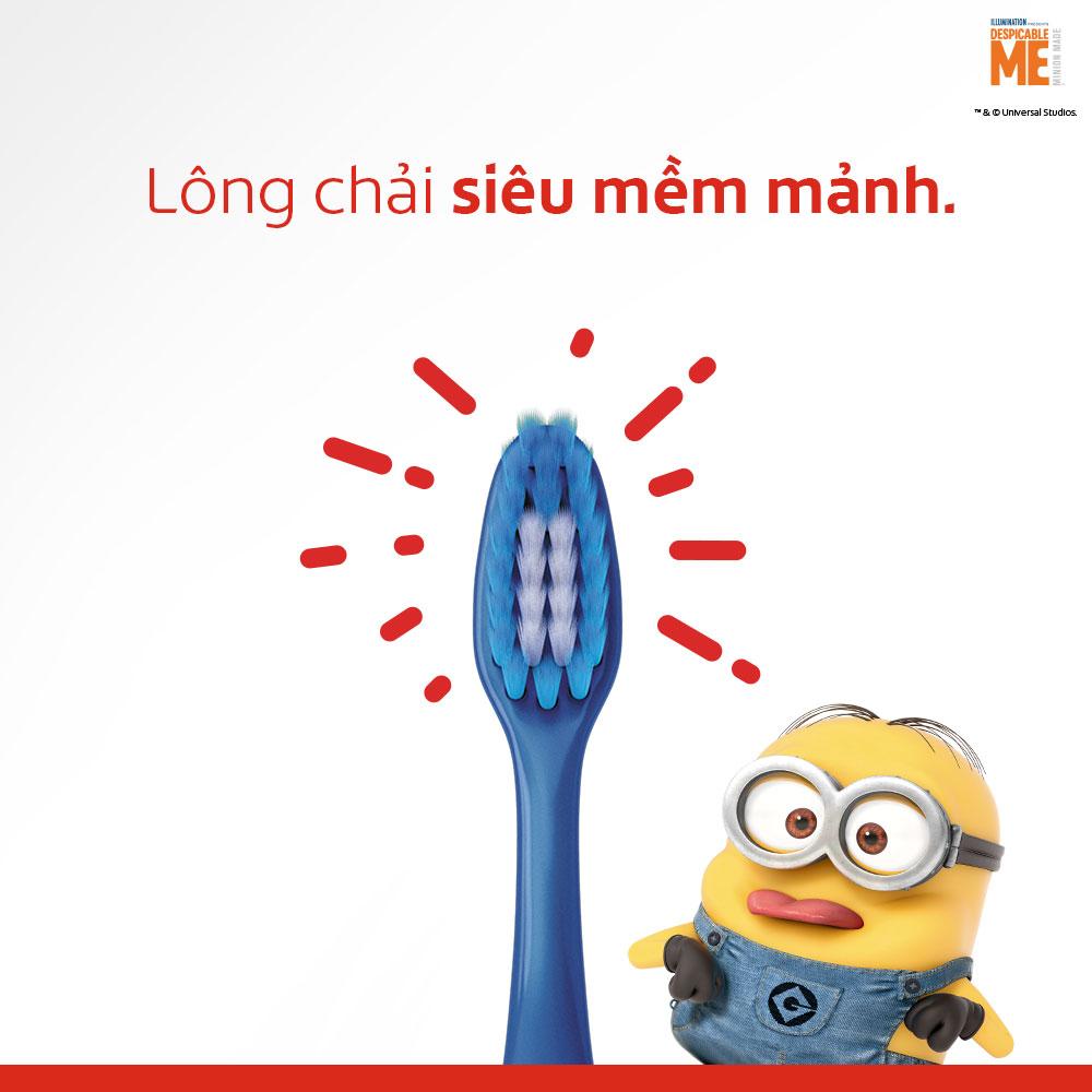 Bộ 2 kem đánh răng 90g và bàn chải Colgate cho trẻ em Minion