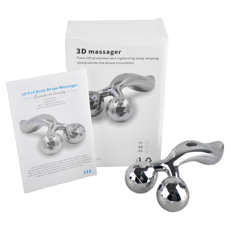Cây lăn massge mặt,nâng cơ,tạo mặt Vline 3D Roller