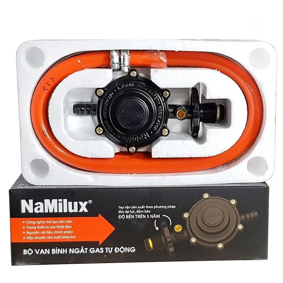 Bộ Van Dây Ngắt Gas Tự Động NaMilux NA-345S- Hàng Chính Hãng.