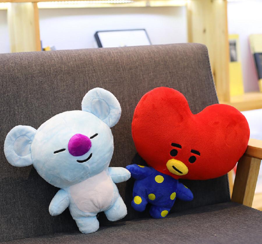 Gấu bông BT21-BTS doll Koya chuẩn hình từng chi tiết