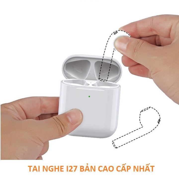 Tai nghe không dây SINO  Air Pro 4 Bluetooth 5.0 đổi tên, định vị, cảm biến siêu nhạy - Tai nghe bluetooth - Hàng nhập khẩu - TNB03