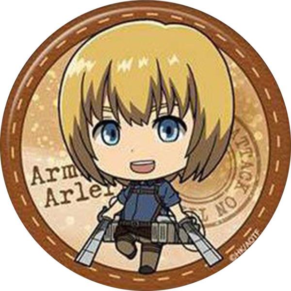 Huy hiệu in hình anime Attack On Titan anime chibi dễ thương huy hiệu cài áo (MẪU GIAO NGẪU NHIÊN)