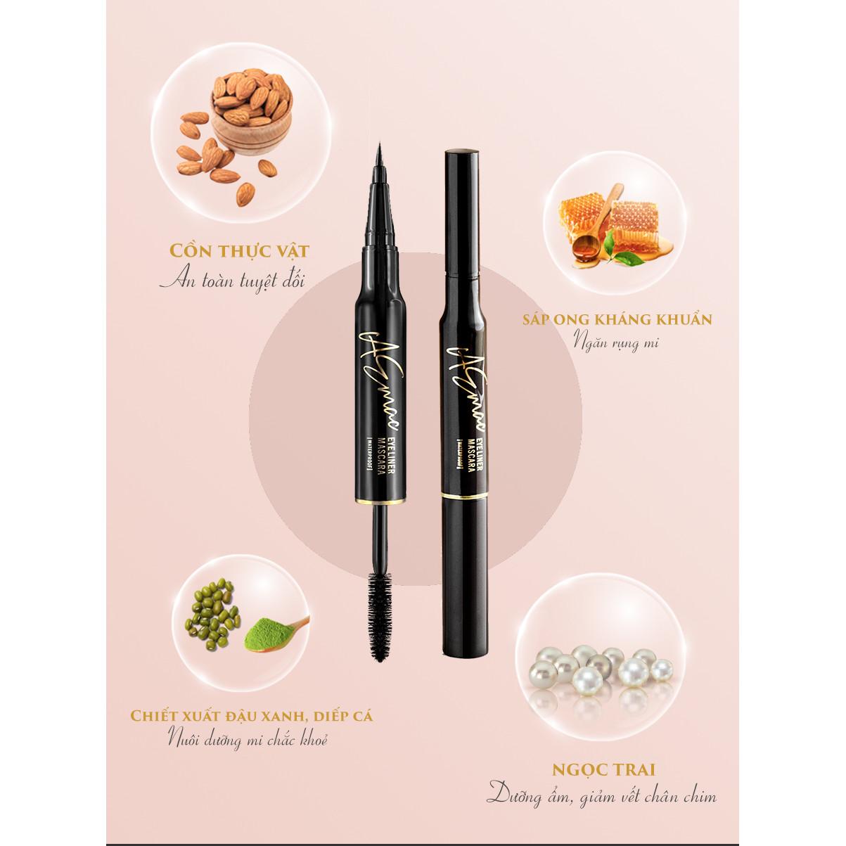 Chì Kẻ Mắt Và Mascara Tích Hợp Thông Minh 2 Trong 1 - AEMAC Mascara & Eye Liner