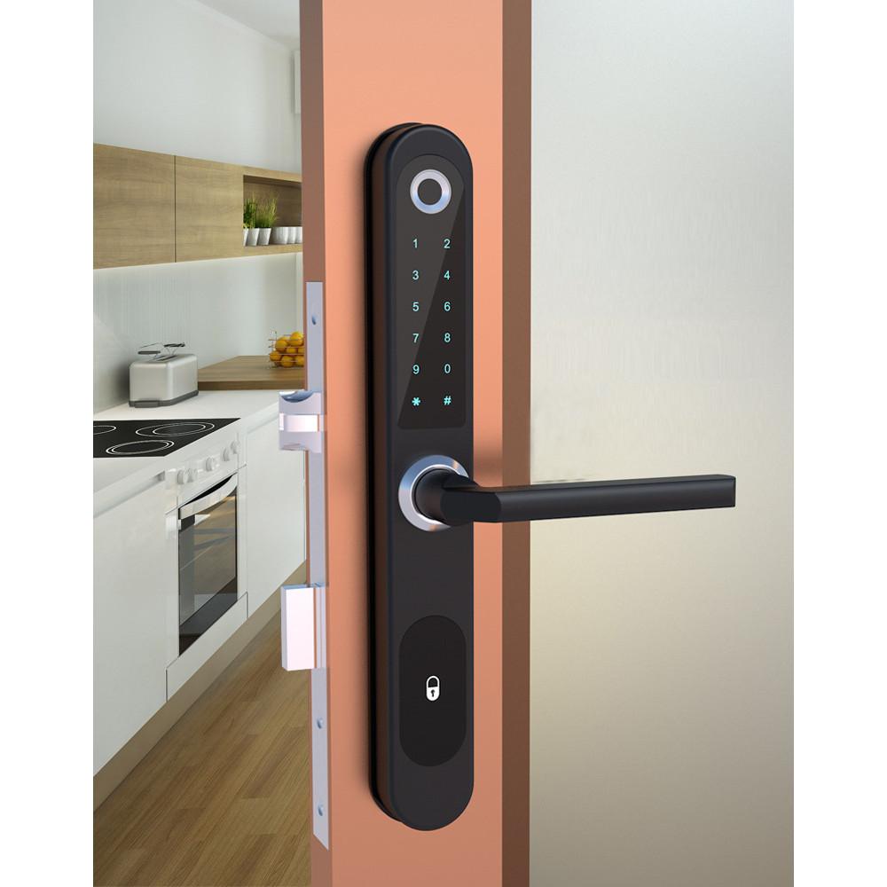 Khóa cửa vân tay, thẻ từ cho cửa nhôm cửa sắt màu ngẫu nhiên