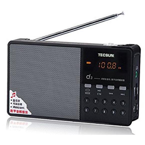 Radio Tecsun D3 (Hàng nhập khẩu)