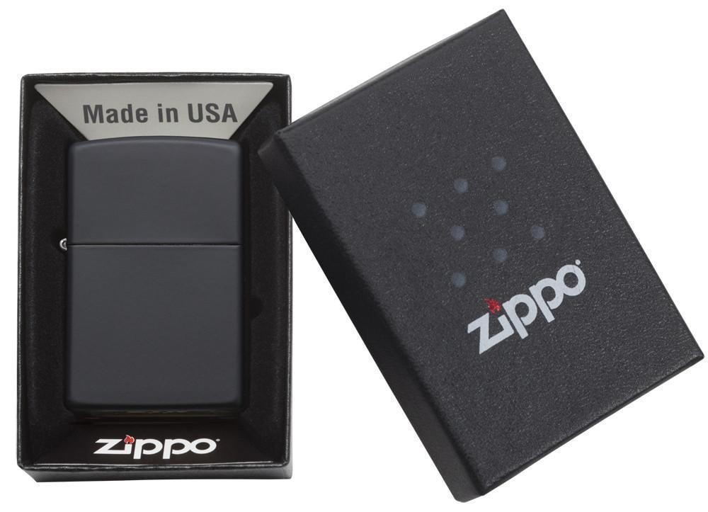 Bật lửa Zippo Black Matte 218