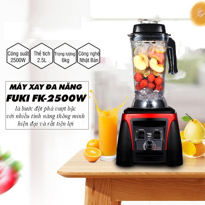 Máy xay sinh tố công nghiệp Fuki FK-2500 (2500W) – Hàng chính hãng