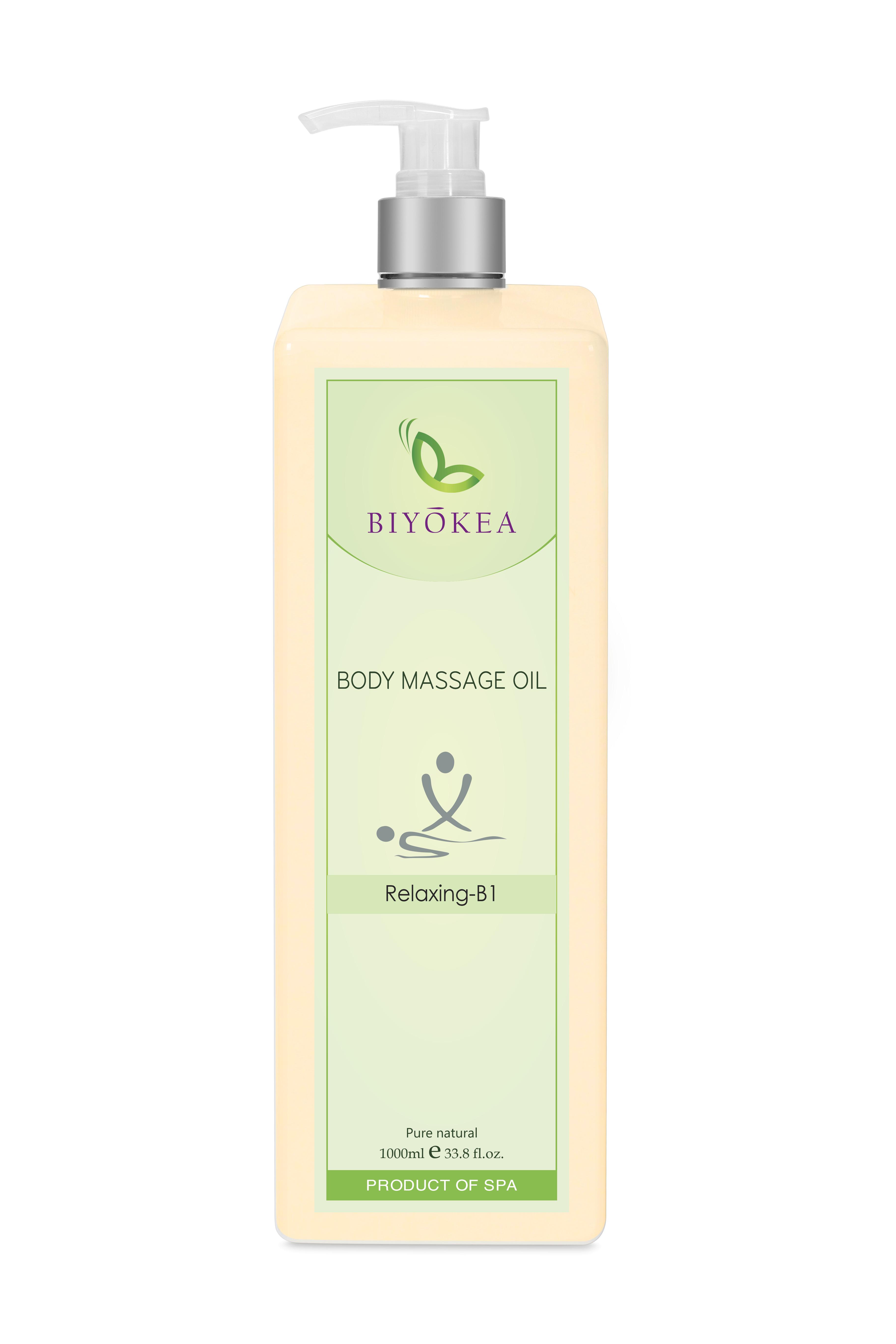 Dầu Massage Body  Biyokea - Relaxing B1 (thư giãn) - 1000ml