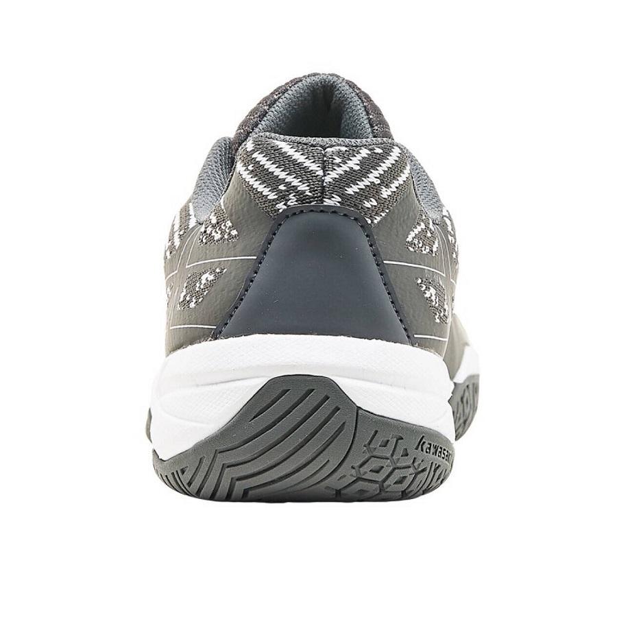 Giày cầu lông Kawasaki chuyên nghiệp, CH K353 màu đen - tặng bình làm sạch giày cao cấp