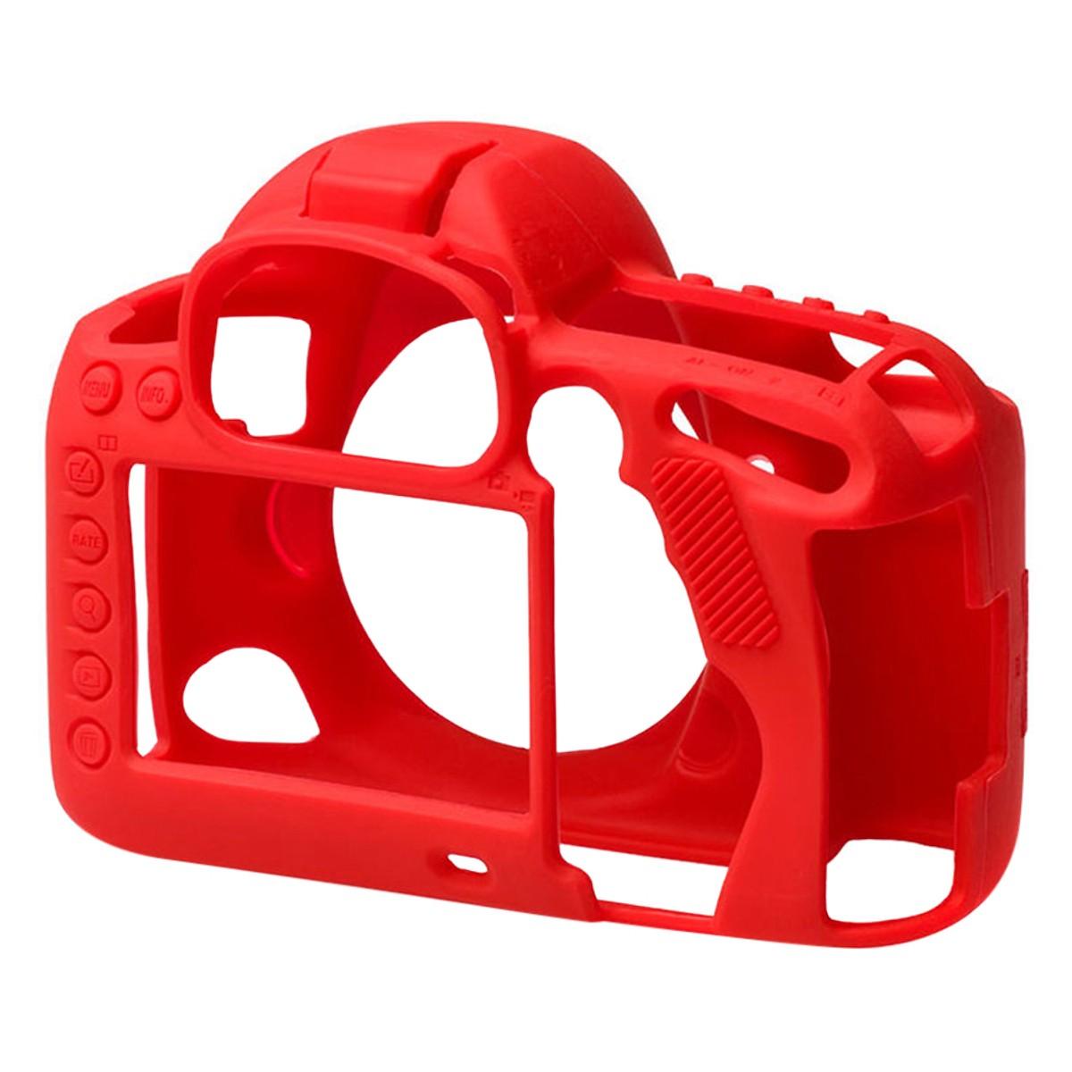 Bao Silicon Bảo Vệ Máy Ảnh  Cover Cho Canon 5D Mark IV Đỏ