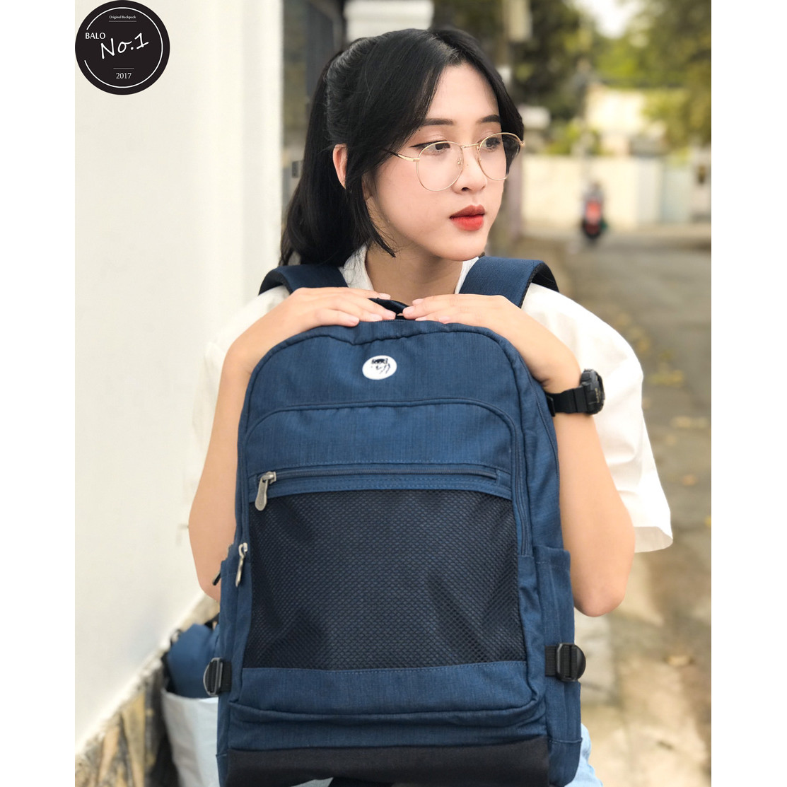 Balo Laptop Cao Cấp Mikkor The Eli Backpack