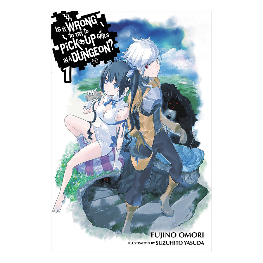 Is It Wrong to Try to Pick Up Girls in a Dungeon?, Volume 01 (Light Novel) (Illustration by Suzuhito Yasuda)