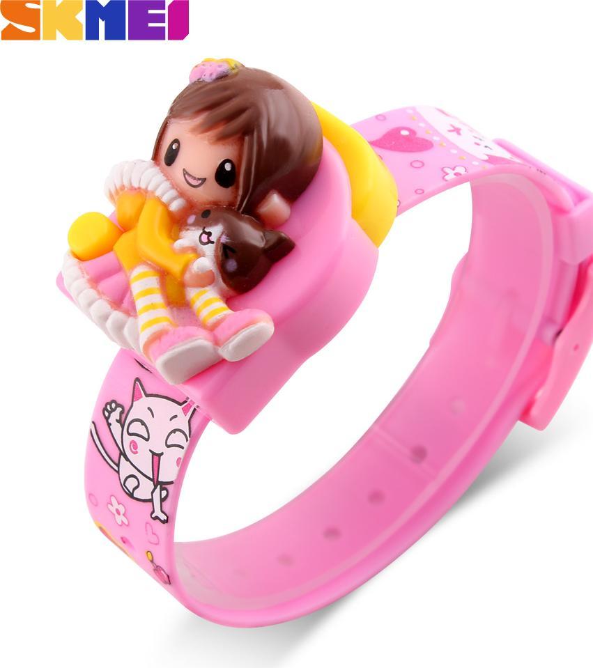 Đồng hồ đeo tay Skmei - 1240PK-Hàng Chính Hãng