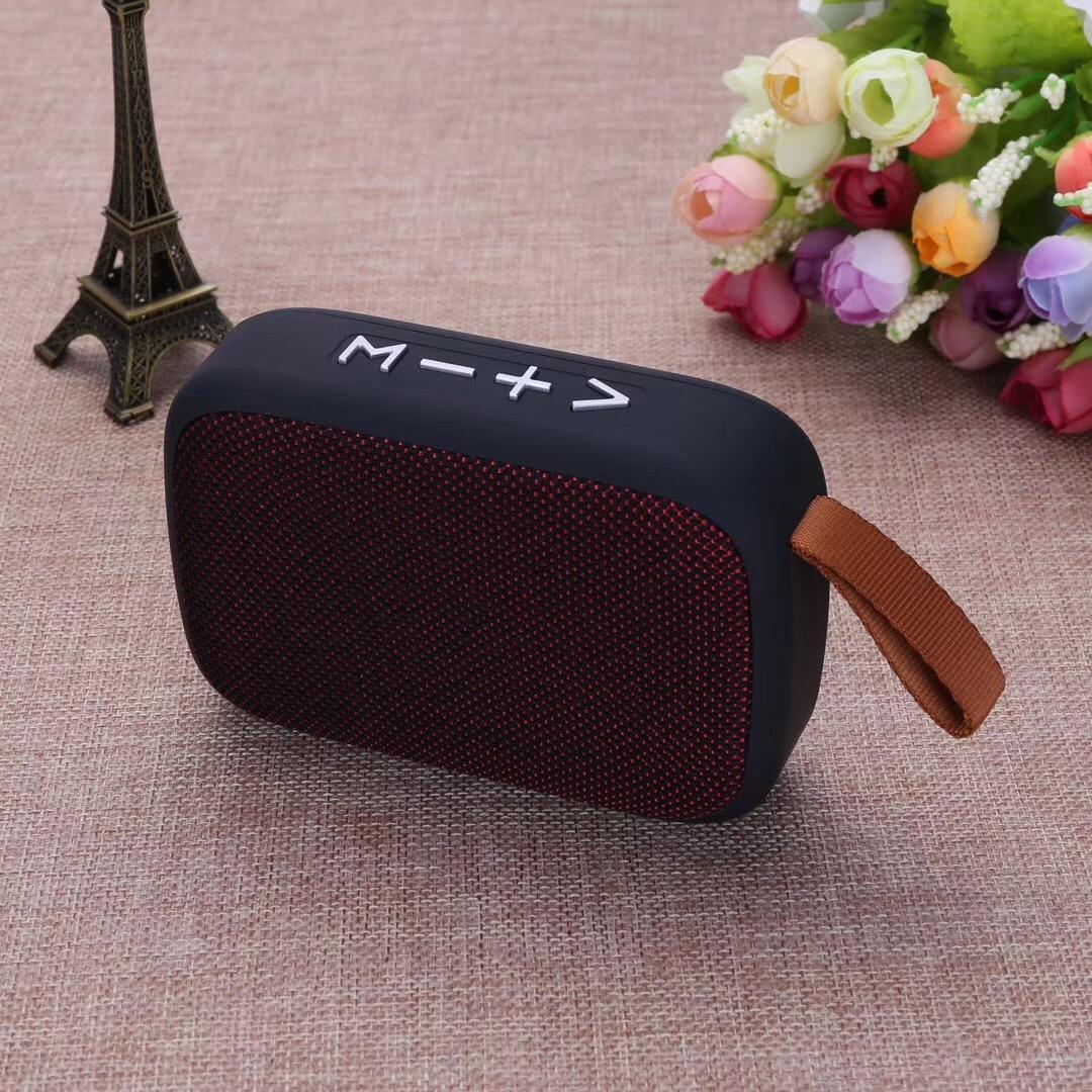Đài Radio FM Kiêm Loa Nghe Nhạc Bluetooth Không Dây Cầm Tay DI Động G2 Hỗ Trợ Khe Cắm Thẻ Nhớ USB (Giao Màu Ngẫu Nhiên)