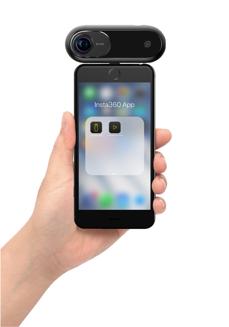 Camera 360 độ, quay phim 4K, model : Insta360 ONE