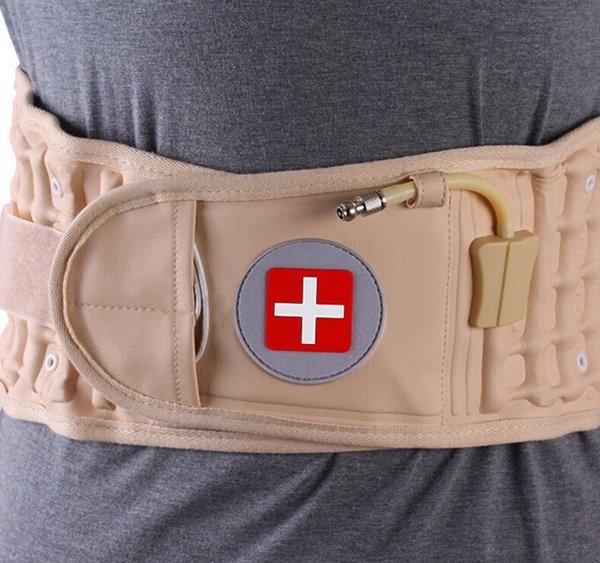 Đai thắt lưng cơ học kéo giãn cột sống, giảm cơn đau nhức kéo dài WB