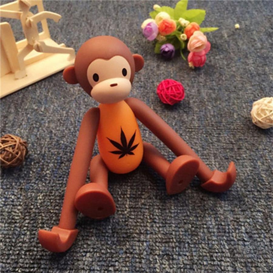 Giá Đỡ Điện Thoại Để Bàn Hình Chú Khỉ Ngộ Nghĩnh - Màu Ngẫu Nhiên