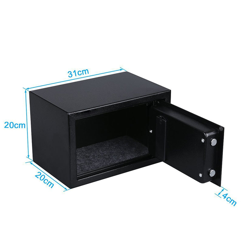Két sắt mini điện tử V2 đen