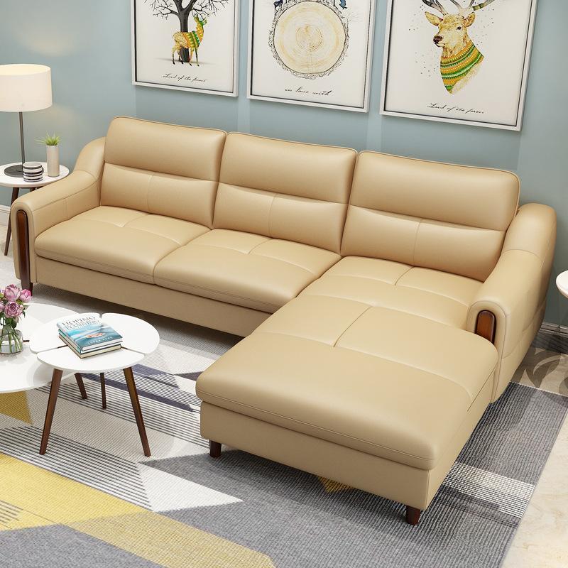 Sofa Phòng Khách Cao Cấp Thiết Kế Đơn Giản Nhỏ Gọn DP-SCC34