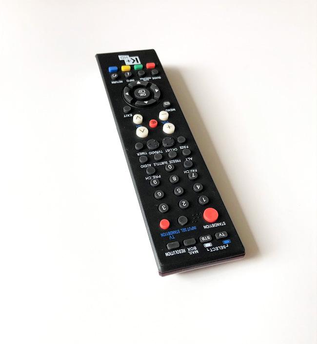 Remote Điều Khiển Dành Cho Đầu Thu Truyền Hình Số K+ HD