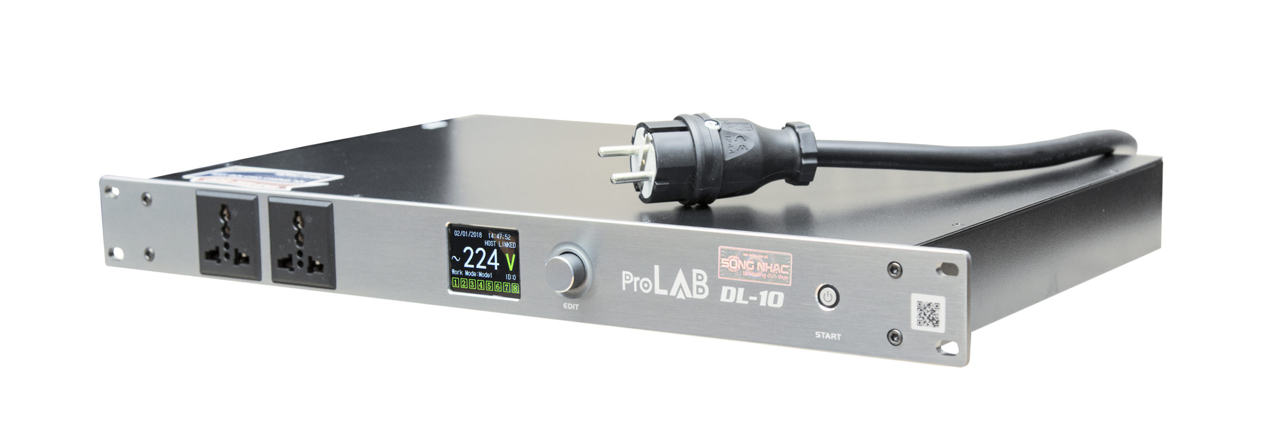 Bộ quản lý nguồn điện AC Delay ProLab DL-10 | Hàng nhập khẩu chính hãng