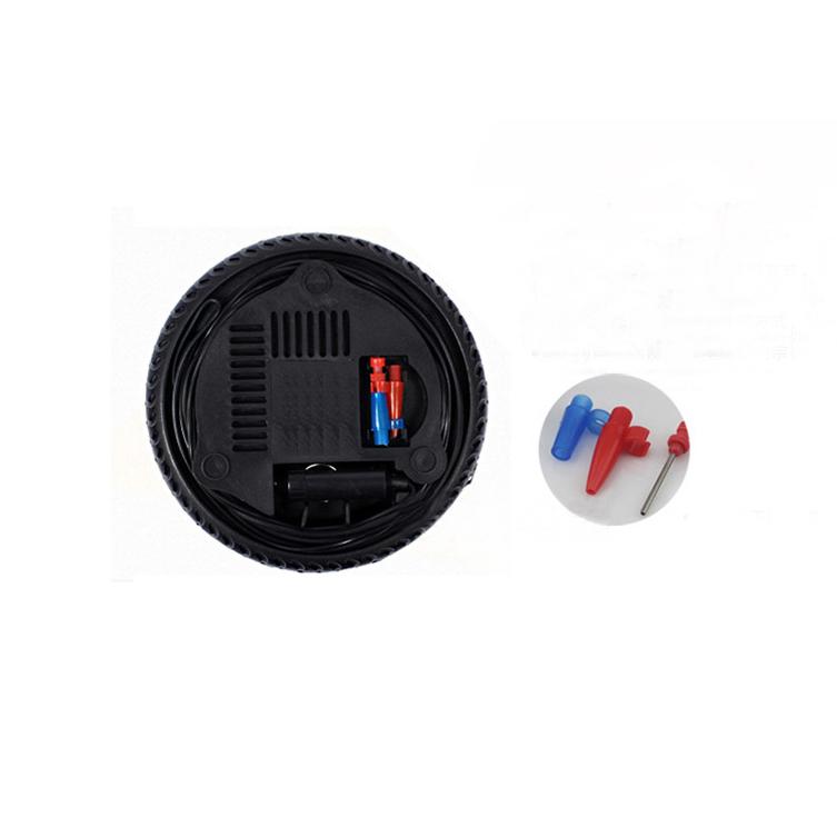Máy bơm mini hình bánh xe dạng tròn chuyển dụng bớm lốp ô tô, xe máy, bóng hơi, bể bơi trẻ em